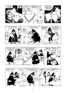 Papa Moomin et les espions