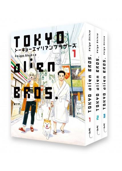 Pack Tokyo Alien Bros + marque page et tiré à part
