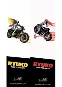 """Pack """"Ryuko"""" la totale !!! + 2 marque-pages (Port compris)"""