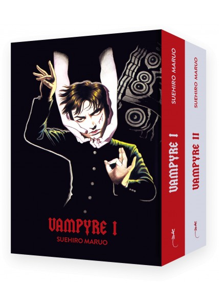 """Pack """"Vampyre-nouvelle édition"""" la totale !!! + Sérigraphie Maruo"""